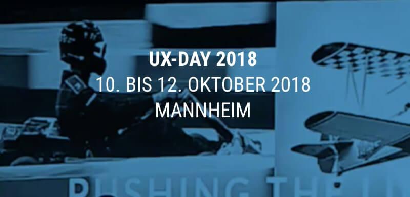 UX-DAY Mannheim 2018