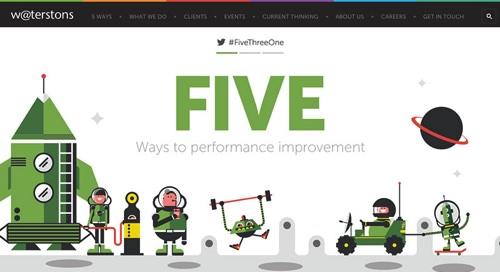 Five ways to performance improvement