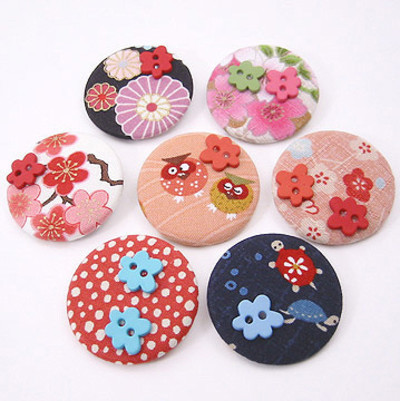 Pins, Badges and Buttons - Blossom badges