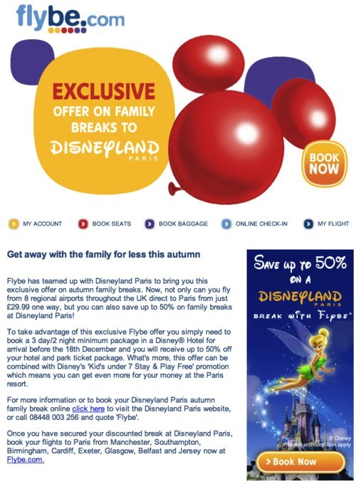 Flybe newsletter