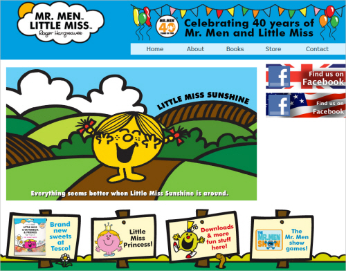 Little-miss-sunshine22 in Best Practices For Designing Websites For Kids