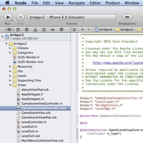 Running Seven Bridges in Xcode