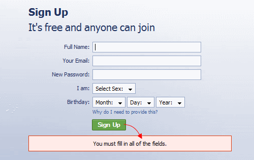 Web Form Validation Best Practices And Tutorials Smashing Magazine