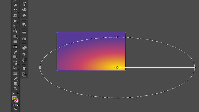 Modifying the gradient shape