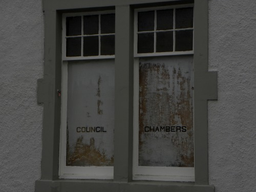 Wayfinding and Typographic Signs - council-chambers