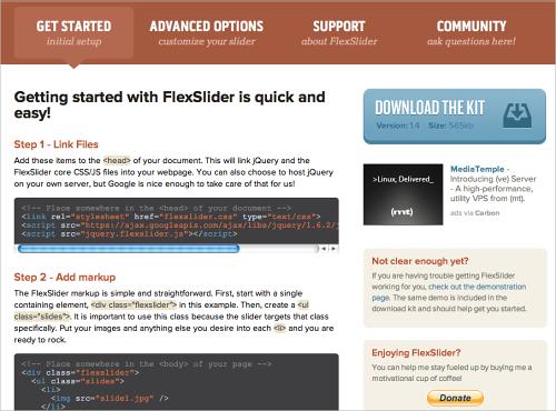 Freebie: Responsive jQuery Slider Plugin Flexslider