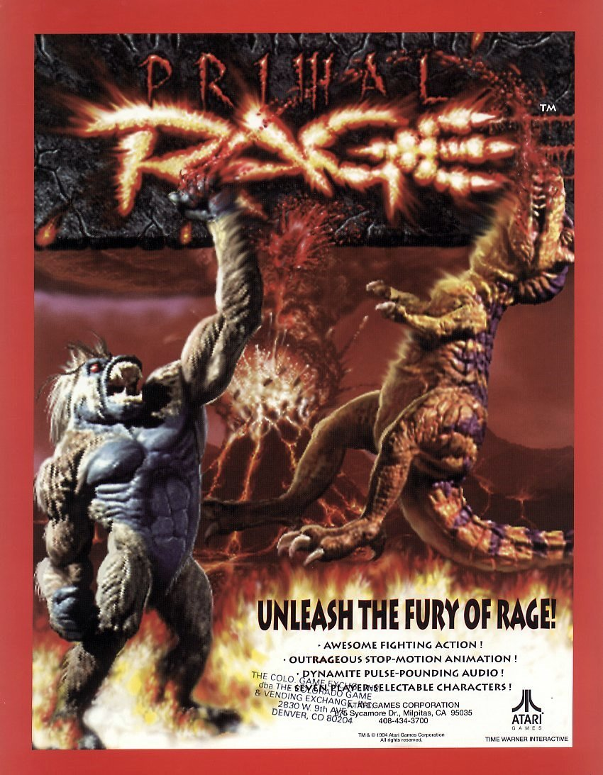 Primal Rage in Plasticine Art Showcase