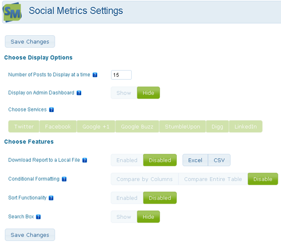 Social Metrics