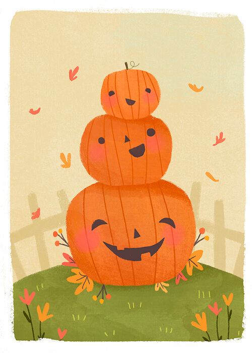 'Drawlloween' by Lindsay Dale-Scott