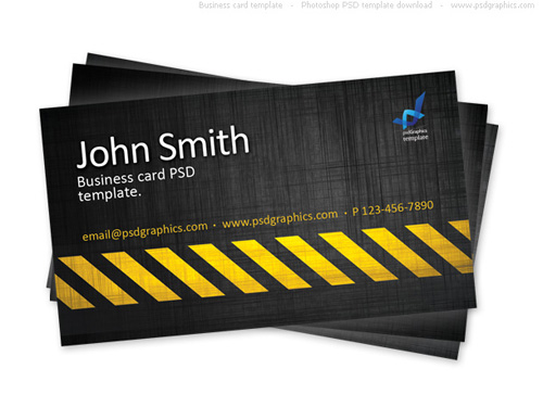 Business card design starter kit showcase tutorials templates free abstract blue business card template this double sided psd card template includes well organized layers and is in cmyk color mode for easy editing reheart Choice Image