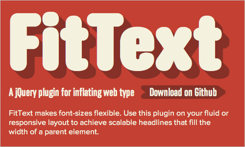 Flexible Font Sizes with jQuery