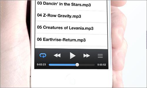 DropTunes: Stream music from the Dropbox