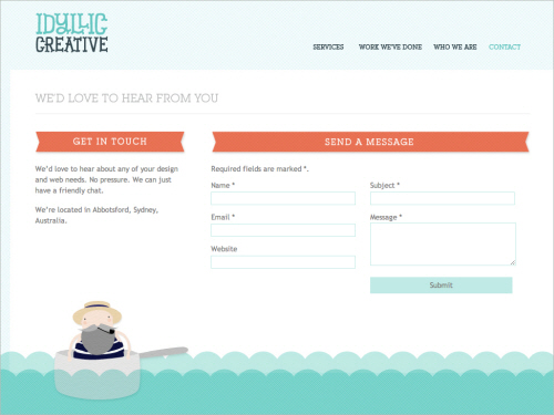 8idyl in Best Practices of Web Form Design