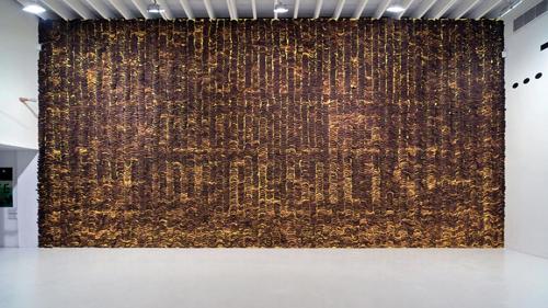 Sagmeister's Banana Wall.