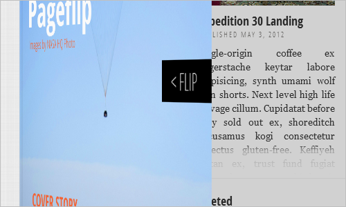 Flipboard Page Layout