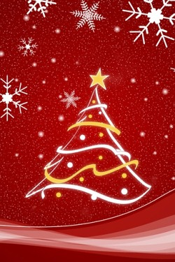 christmas lights iphone hd wallpaper