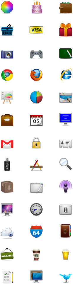 Web Designer Icons