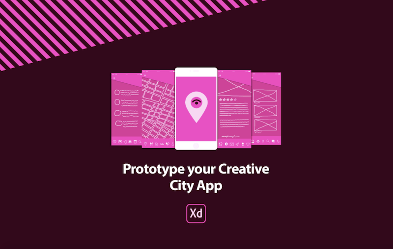 Adobe Prototype Your Creative City App