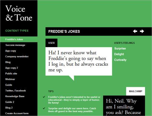Voice And Tone - Freddie's Jokes