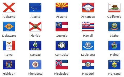 Free High Quality Icon Sets - 172 final flag icons