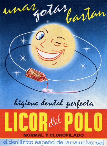 Vintage and Retro - Licor del Polo (1960)