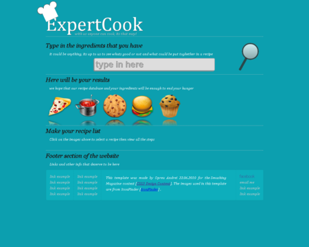 CSS3 Designs For Free Download - css3-expert-cook