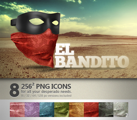Free Icon Sets - El Bandito