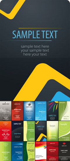 Business card design starter kit showcase tutorials templates screenshot reheart Gallery