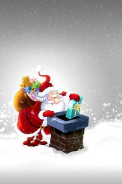 50 Christmas Wallpapers for iPhone 4s