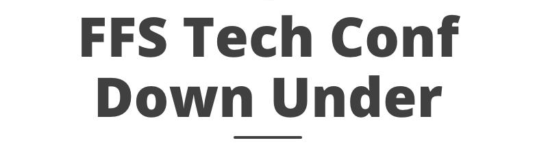 FFS Tech Conf Down Under 2019