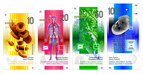 Swiss Franc Design Concept by Manuel Krebs
