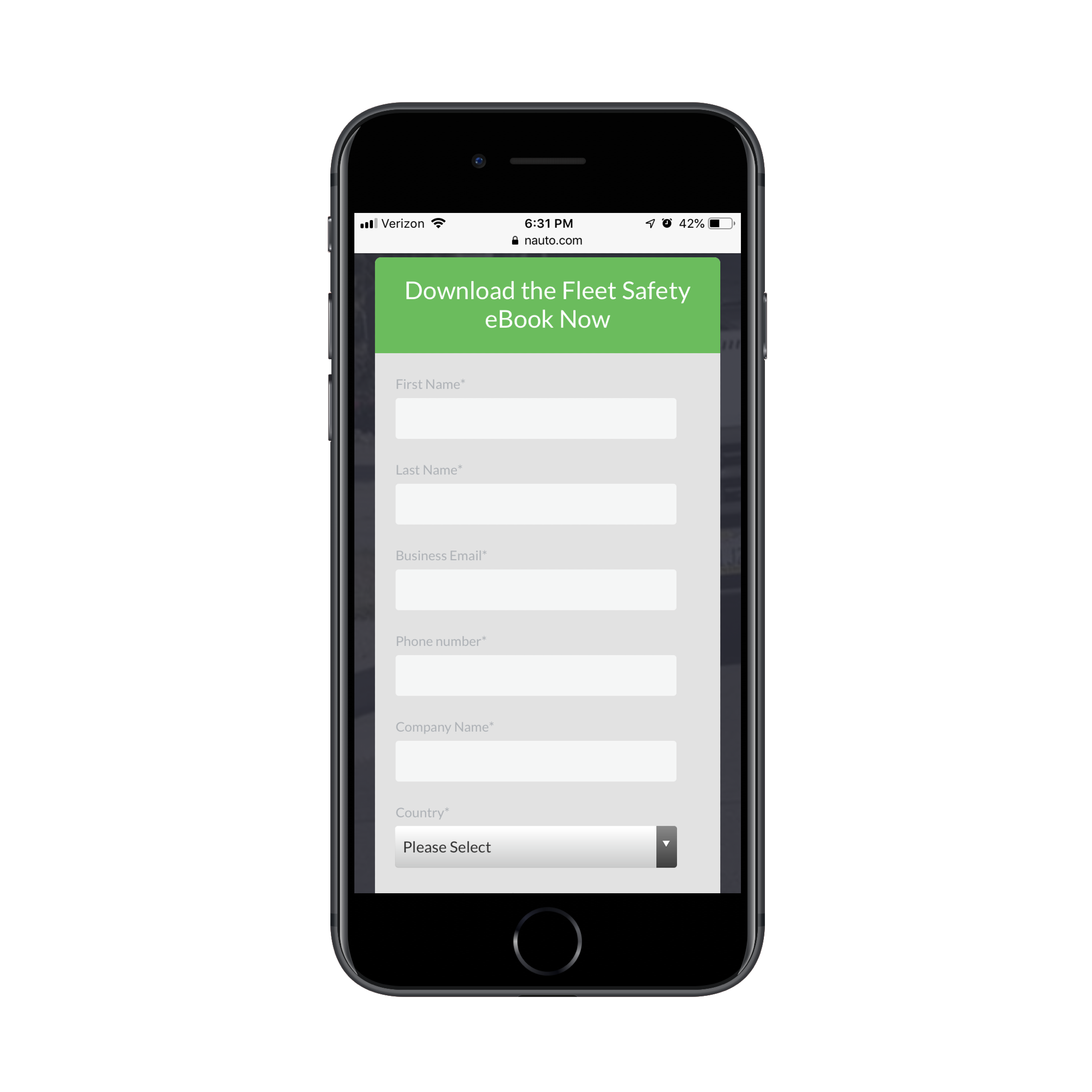 Design A Lead Gen Landing Page For Mobile That Converts