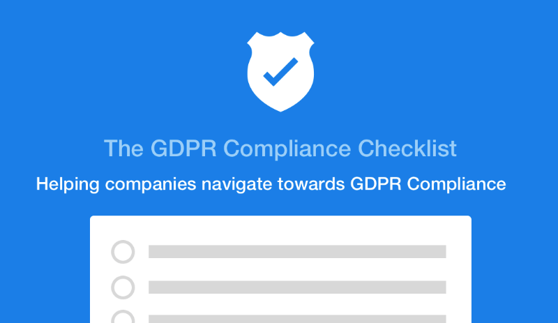 GDPR Compliance Checklist