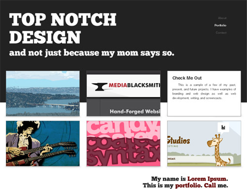 Type Layout For Free Download - Top Notch
