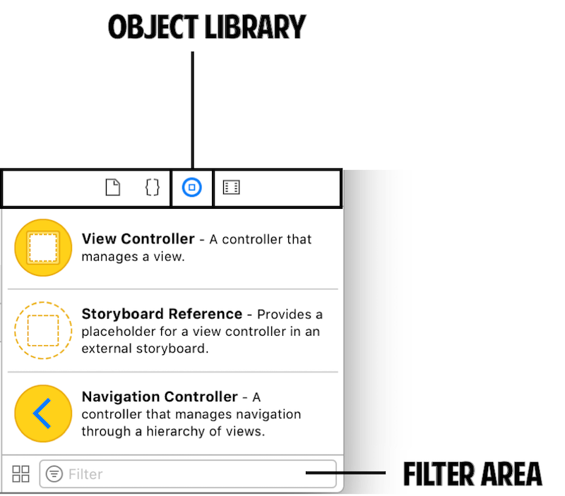 object-library-filter-area