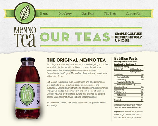 Menno Tea - Our Teas