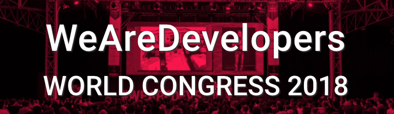 WeAreDevelopers 2018