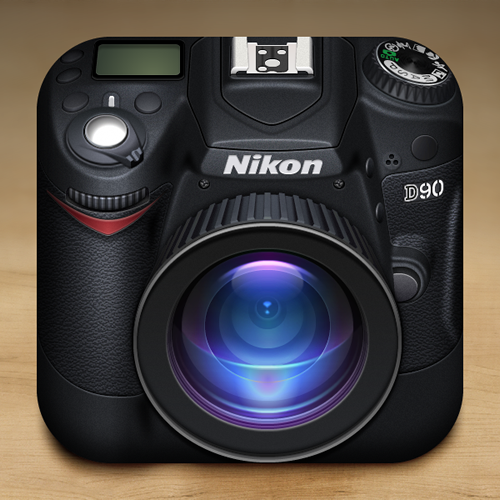 Nikon iOS icon by Gianluca Divisi