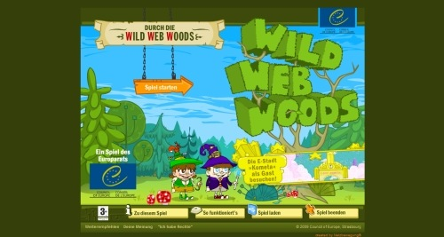 Wild Web Woods in Showcase of Web Design in Germany