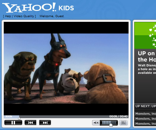 Yahoo! Kids Movie Guides