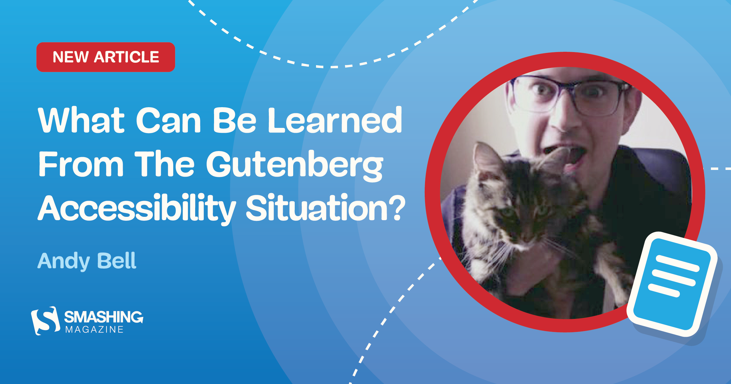 What Can Be Learned From The Gutenberg Accessibility Situation?