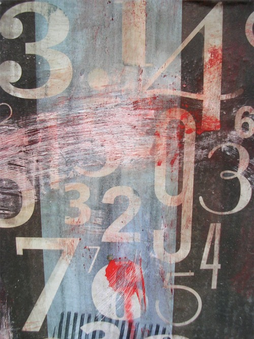 Wayfinding and Typographic Signs - grunge-numbers