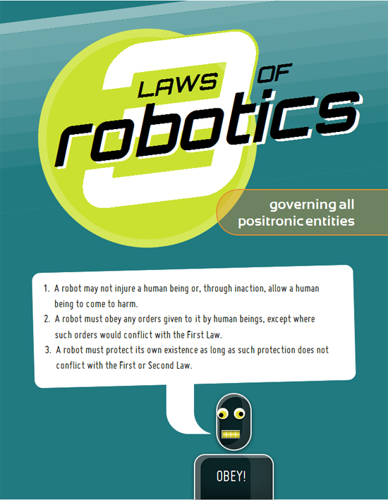 Laws of Robotics