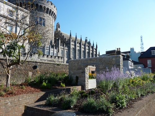 Medieval Garden In Dublin Castle