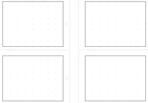 ipad idea sheet - Wireframe Ipad