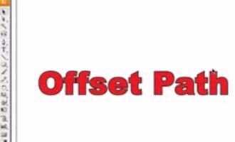 Offset Path tool - screen shot.