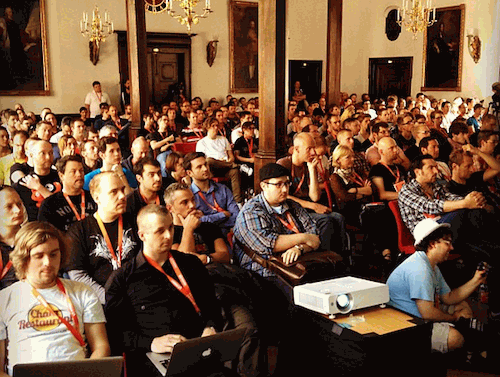 Audience at Smashing Conference.