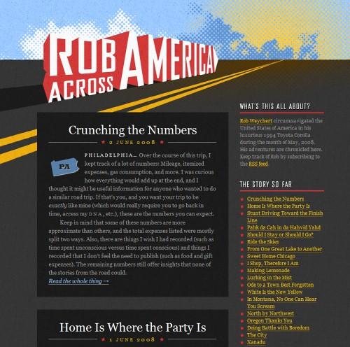 Retro and Vintage Designs - Rob Across America
