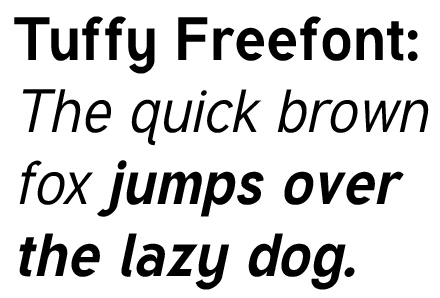 Tuffy Freefont