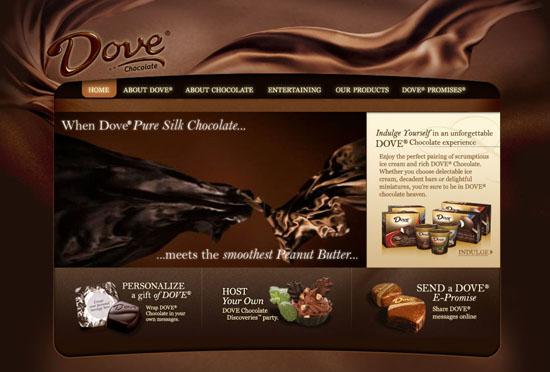 Showcase Of Sweet Chocolate Websites Smashing Magazine